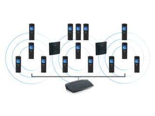 IP DECT-телефон 9430 с возможностью расширенного подключения дополнительных трубок